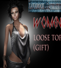 Loose Top for Female September 2014 Group Gift by Lavarock Creations - Teleport Hub - teleporthub.com
