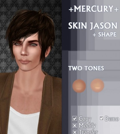 Jason Skin and Shape by MERCURY - Teleport Hub - teleporthub.com