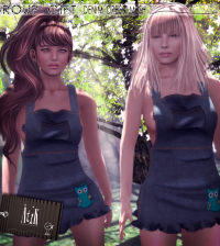 Mesh Dress September 2014 Group Gift by AtiK - Teleport Hub - teleporthub.com