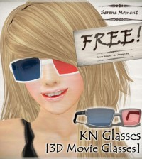 KN 3D Glasses by Serene Moment - Teleport Hub - teleporthub.com