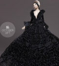 Black Gown October 2014 Group Gift by Gizza Creations - Teleport Hub - teleporthub.com