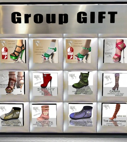 12 Shoes Group Gifts by INSOMNIA - Teleport Hub - teleporthub.com
