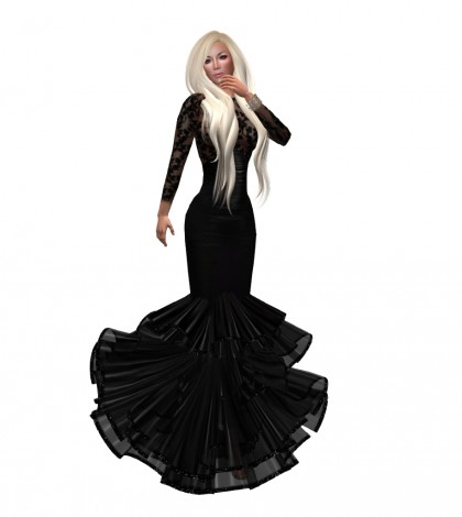 Ellen Gown Group Gift by Maai - Teleport Hub - teleporthub.com
