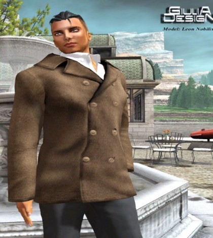 Sandro Biege Outfit for Men Group Gift by GIULIA Design - Teleport Hub - teleporthub.com