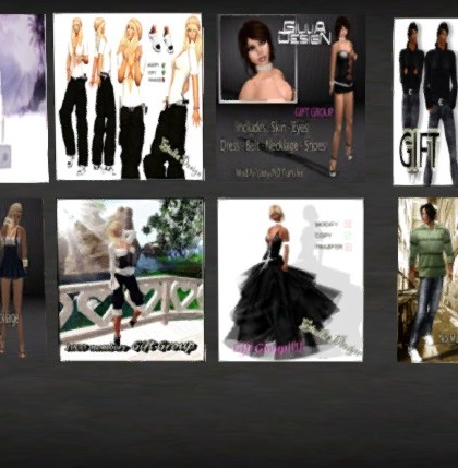 20 Outfits Group Gifts for Men and Women by GIULIA Design - Teleport Hub - teleporthub.com