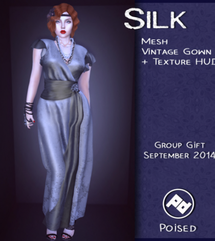 Vintage Gown Silk Group Gift by Poised - Teleport Hub - teleporthub.com
