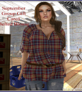 Caren Belt Blouse September 2014 Group Gift by FA CREATIONS - Teleport Hub - teleporthub.com