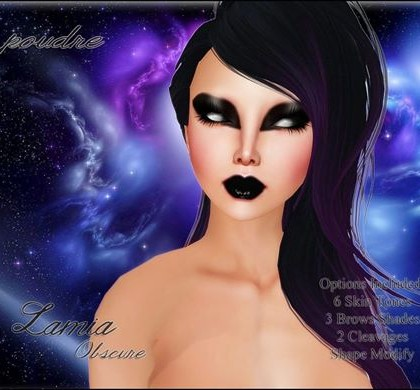 Lamia Obscure Skin Group Gift by POUDRE - Teleport Hub - teleporthub.com