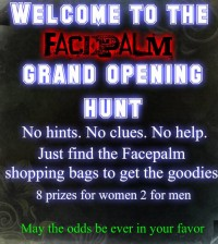 Facepalm Grand Opening Hunt - Teleport Hub - teleporthub.com
