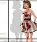 Doomed Princess Halloween Dress by Ruby - Teleport Hub - teleporthub.com
