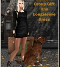 Tina Longsleeve Dress October 2014 Group Gift by FA CREATIONS - Teleport Hub - teleporthub.com