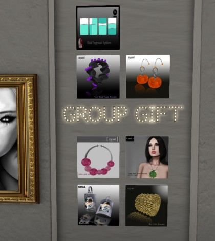 Eight Accessories Group Gifts by OPAL - Teleport Hub - teleporthub.com