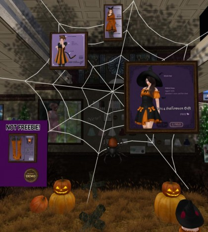 Halloween Outfits and Decors Gift by G Field - Teleport Hub - teleporthub.com