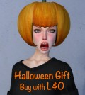 Halloween Pumpkin Hat Gift by COCO Designs - Teleport Hub - teleporthub.com