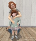 Hold Me Close Parent and Kid Pose by Sweet'n'Salty Poses - Teleport Hub - teleporthub.com