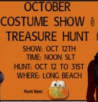 October Costume Show & Treasure Hunt - Teleport Hub - teleporthub.com