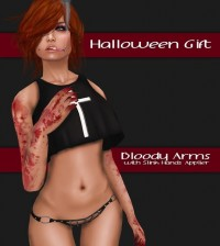 Bloody Arms with Slink Applier Gift by [I