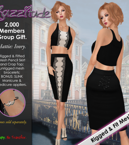 Hattie 2000 Members Special Group Gift by jazzitude - Teleport Hub - teleporthub.com