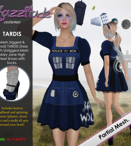 Costumes TARDIS Cosplay October 2014 Group Gift by jazzitude - Teleport Hub - teleporthub.com