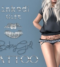 BabyGirl Tattoo by linked - Teleport Hub - teleporthub.com