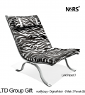 Zebra Chair Love To Decorate Group Gift by N4RS - Teleport Hub - teleporthub.com