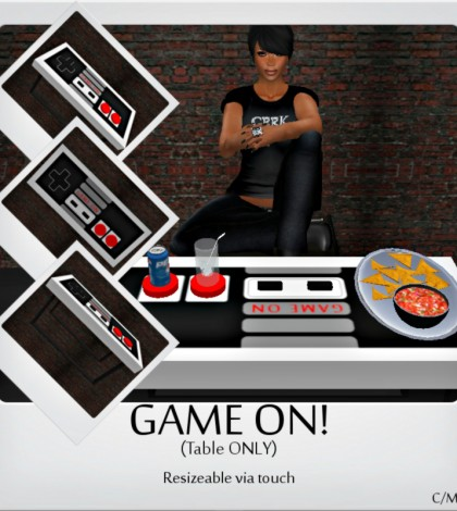 Game On! Table Group Gift by [Earth's] - Teleport Hub - teleporthub.com