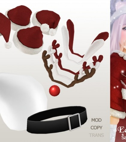 Santa Accessory Pack by Edelweiss - Teleport Hub - teleporthub.com