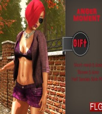 Anger Moment Outfit Group Gift by FLG Store - Teleport Hub - teleporthub.com