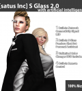 New Release: S Glass 2.0 by [satus Inc] - Teleport Hub - teleporthub.com
