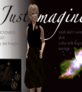 Female Outfit November 2014 Group Gift by Just Imagine and Wolves Land - Teleport Hub - teleporthub.com