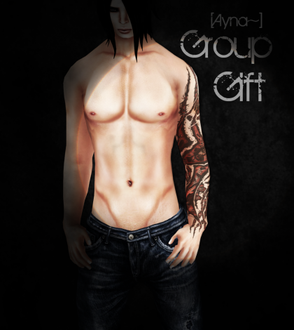 Sodom Single Arm Tattoo Reopening Group Gift by Ayna~ - Teleport Hub - teleporthub.com