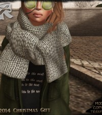 Scarf Christmas 2014 Group Gift by RONSEM - Teleport Hub - teleporthub.com