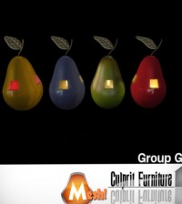 Pear Candles Subscriber Gift by Culprit Furniture - Teleport Hub - teleporthub.com