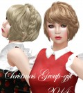 Christmas Hair 2014 Group Gift by DURA - Teleport Hub - teleporthub.com