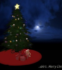 Merry Christmas Tree Set 100L Promo by dArt Art & Design - Teleport Hub - teleporthub.com