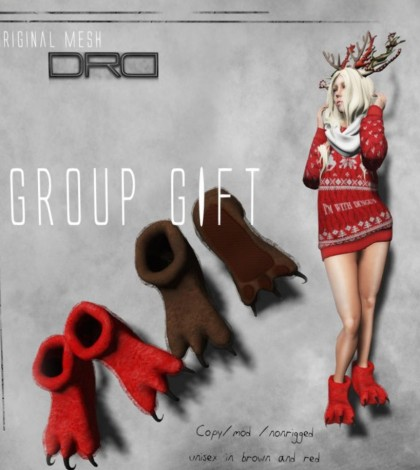Unisex Paws Slipper Group Gift by Death Row Designs - Teleport Hub - teleporthub.com