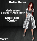 Robin Dress Cutie Group Gift by MoSt - Teleport Hub - teleporthub.com
