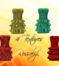 Short Dress 4 Textures 49L Promo by Rossalyi - Teleport Hub - teleporthub.com