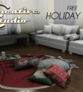 Holiday Rug by Creative Studio - Teleport Hub - teleporthub.com
