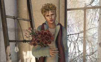 Tailored Coat Homme Iceblue Valentine Limited Time Group Gift by K - Teleport Hub - teleporthub.com