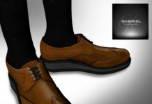 Wing Tip Low Camel Dress Shoes MIMI's Choice Group Gift by Gabriel - Teleport Hub - teleporthub.com