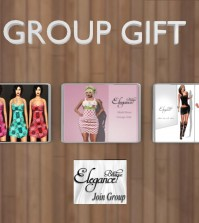 Three Dresses Group Gift by Elegance Boutique - Teleport Hub - teleporthub.com
