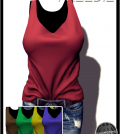 Tucked TankTop with HUD Group Gift by Addams - Teleport Hub - teleporthub.com