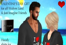I Love Her and Him Hoodie Group Gift by Just Imagine and Wolves Land - Teleport Hub - teleporthub.com