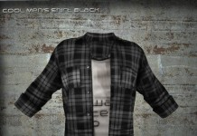 Cool Men Shirt Black Group Gift by MIRUS Designs - Teleport Hub - teleporthub.com