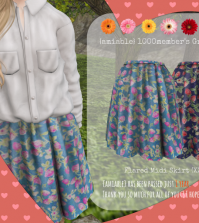 Mesh Skirt 1000 Members Group Gift by {Amiabe} - Teleport Hub - teleporthub.com