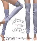 Vintage Gaiters Blue 5L Promo by Mutiny in Heaven - Teleport Hub - teleporthub.com