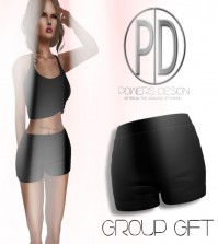 Black Shorts Group Gift by Powers Design - Teleport Hub - teleporthub.com