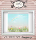 Babyspring Wallpaper by irrie's Dollhouse - Teleport Hub - teleporthub.com