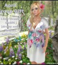 Lilac Dress Outfit April 2015 Group Gift by FA CREATIONS - Teleport Hub - teleporthub.com